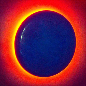 Eclipse – Prussian Blue Pill Blood Orange spill – London