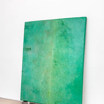 Fresco Colour Field; Countless Cobalt Turquoise Greens