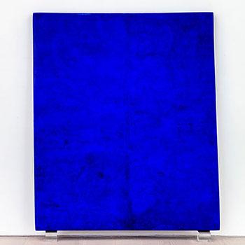 Fresco Colour Field; Countless Ultramarine Blues