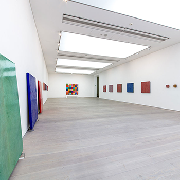 Gallery View ; Fresco Colour Fields, Inlaid Fresco, and Coloured Concrete