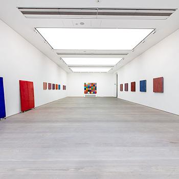Gallery View ; Fresco Colour Fields, Inlaid Fresco, and Coloured Concrete
