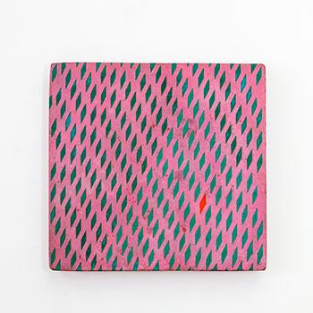 Inlay Fresco Series; Orange Diamond Inlaid lines