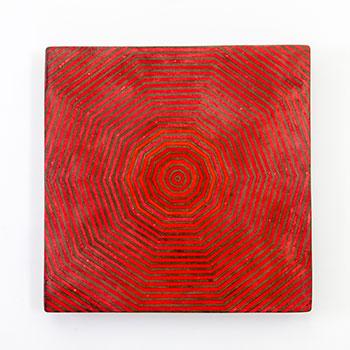 Inlay Fresco Series; Concentric Web Inlaid lines