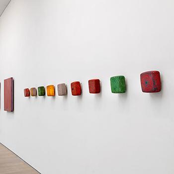 Fresco, Inlaid Brick Series; Equivalent Lines