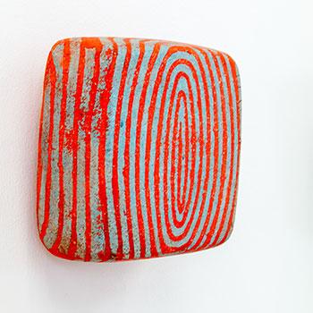 Detail; Fresco, Inlaid Brick Series; Cadmium Reds; Equivalent Lines
