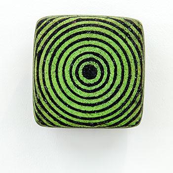Fresco, Inlaid Brick Series; Cadmium Green Equivalent Lines