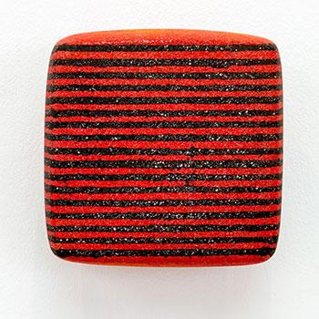 Fresco, Inlaid Brick Series; Mars black ; Equivalent Lines