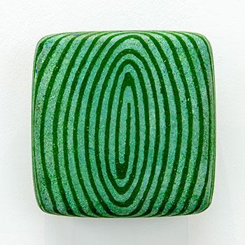 Fresco, Inlaid Brick Series; Cobalt Turquoise Equivalent Lines