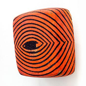 Fresco, Inlaid Brick Series; Cobalt Violet and Cadmium Orange Equivalent Lines