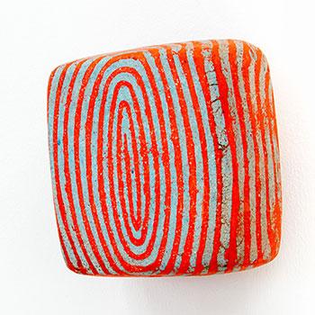 Fresco, Inlaid Brick Series; Cadmium Reds; Equivalent Lines