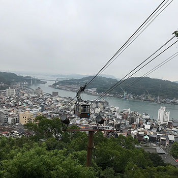 View from LOG site; Onomichi