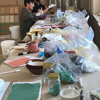 Teaching Colour preparation; Onomichi