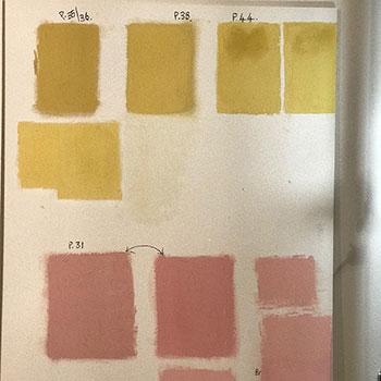 Colour balance test