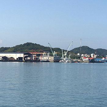 Onomichi port; Japan