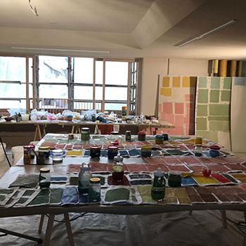 Checking Colours; Colour workshop, Onomichi