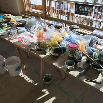 Teaching colour workshop Onomichi