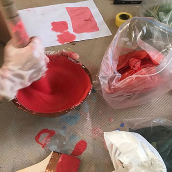 Grinding pigment