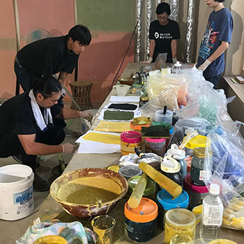 Teaching making colour