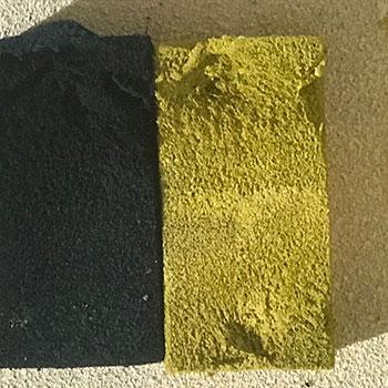 Testing colour blocks