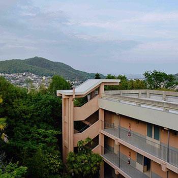 ExteriorArts/Community Centre, Onomichi; Japan